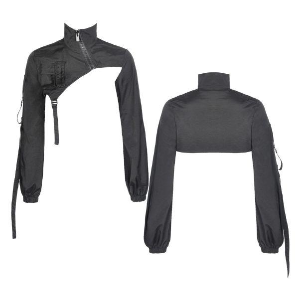 Bolero Crop Top in futuristischem Casual Look