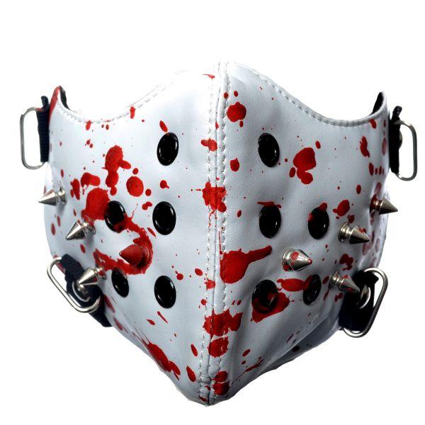 Bikermaske mit Blutspritzern - Bloody Massacre