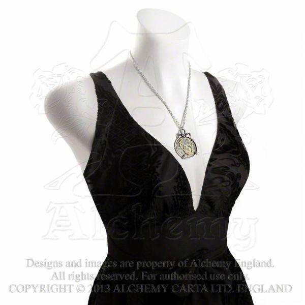 Steampunk Halskette mit Anhänger - Anguistralobe