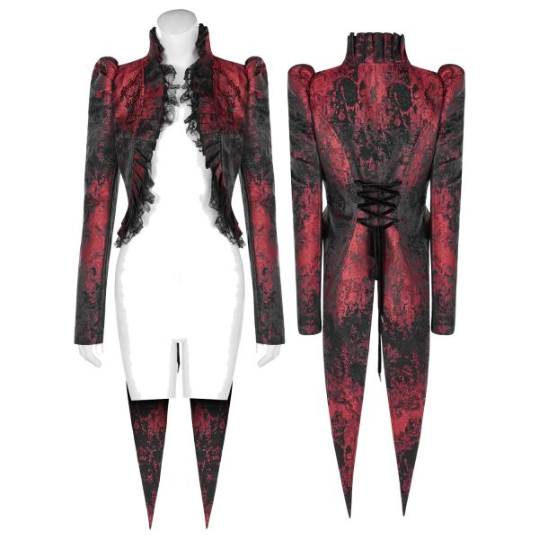Vampir Style Frack Bolero im Jacquard Design
