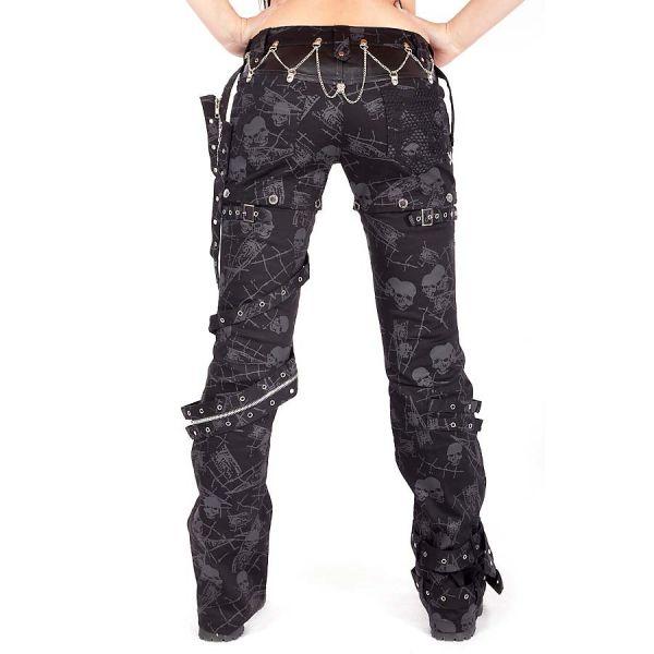 Hose mit abnehmbaren Hosenbeinen und Prints