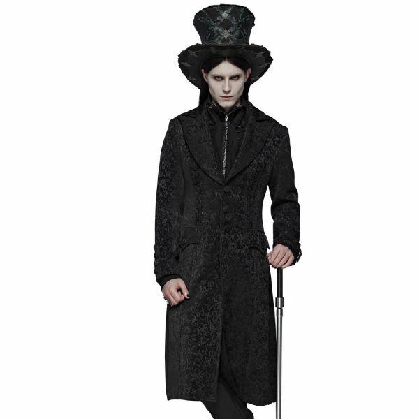 Viktorianischer Aristokrat Mantel im Jacquard Look