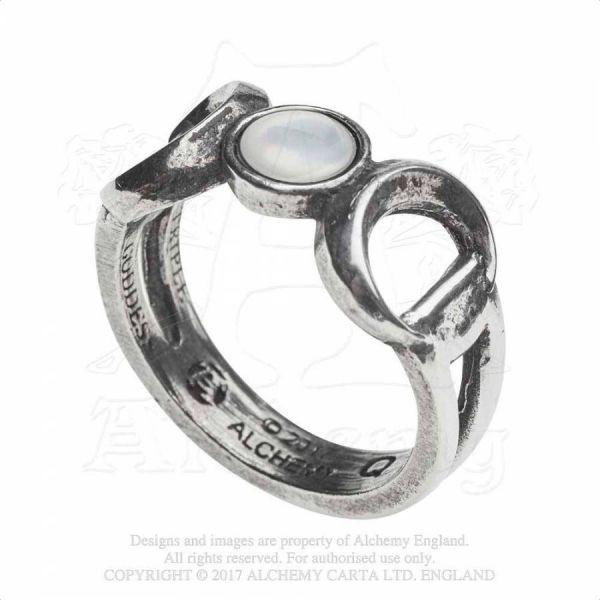 Mystischer Wicca Ring - Triple Goddess