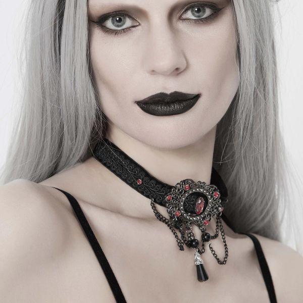 Halsband im Barock Design mit Ornamentverzierung