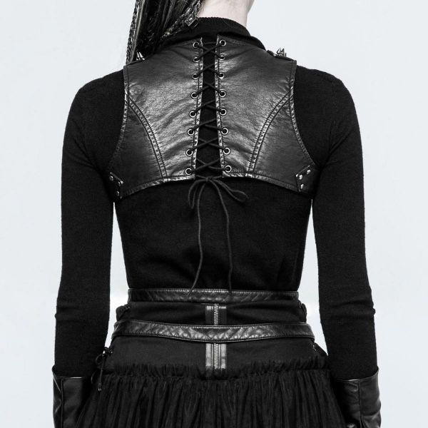 Fetisch Frauen Harness Top im Warrior Bondage Look