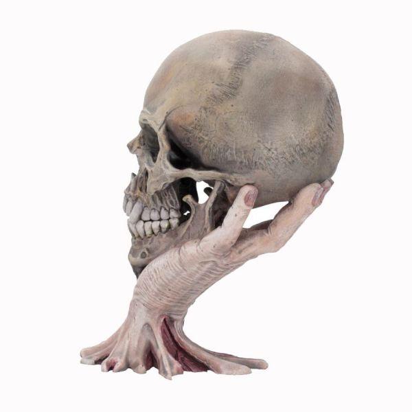 Metallica Sad But True Skull Skulptur