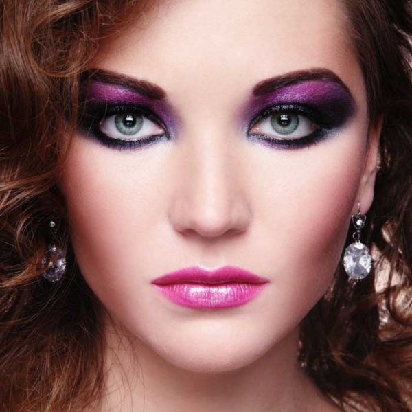 Eyeshadow Lidschatten dunkelrot
