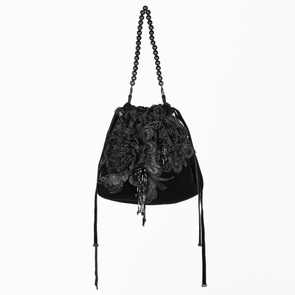 Viktorianische Clutch im Hobo Bag Antik Look