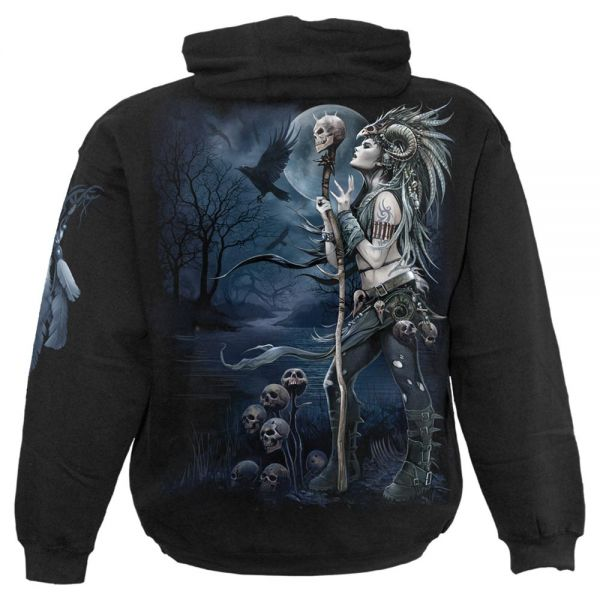 Gothic Style Hoodie - Raven Queen
