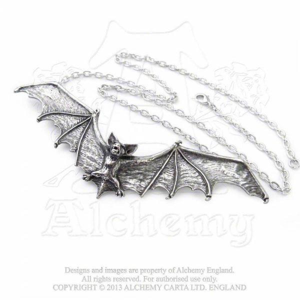 Fledermaus Halskette - Gothic Bat