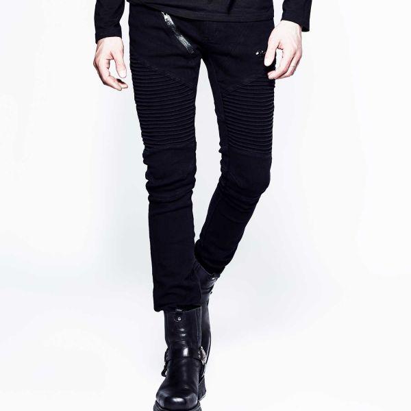 Hose mit akzentuierten Oberschenkeln