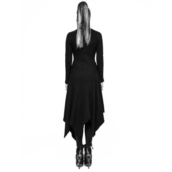 Gothic Style Cardigan im Mystik Style mit Stehkragen