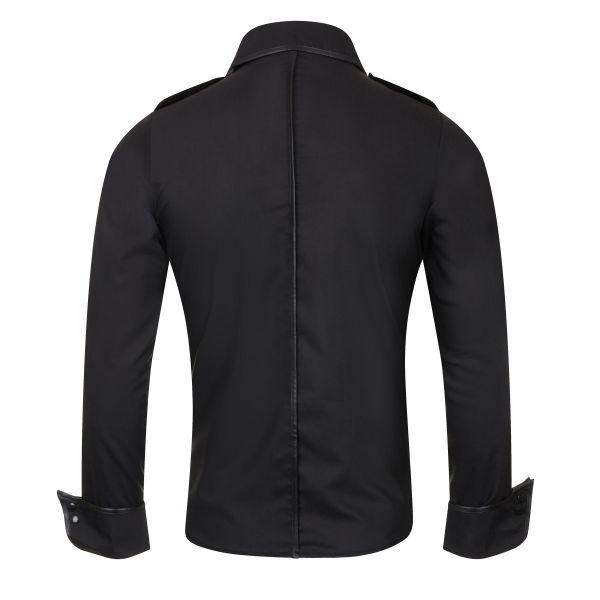 premium selection 3b43a a64a4 Uniform Hemd mit Epauletten und breiten Manschetten