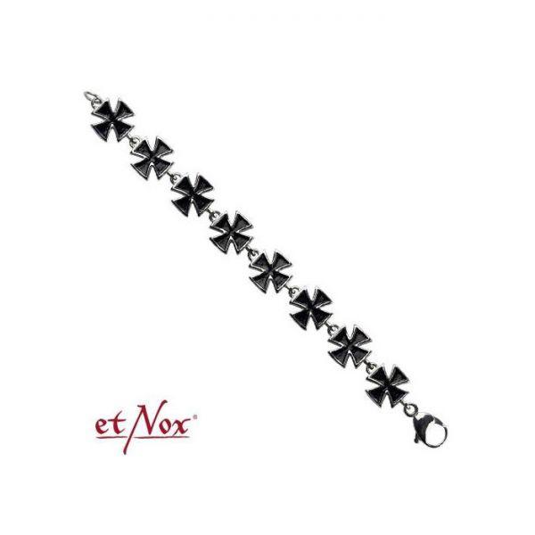 Armband mit schwarzen eisernen Kreuzen