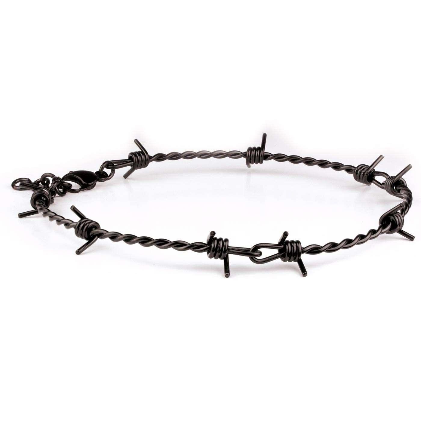 Schwarz Halskette Stacheldraht Stacheldraht Halskette Stacheldraht Schwarz X8wPkn0O