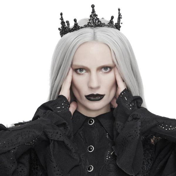 Dark Queen Krone im Barock Design