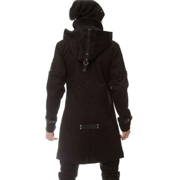 Jacke mit Kapuze und Nieten - Exclusion Jacket