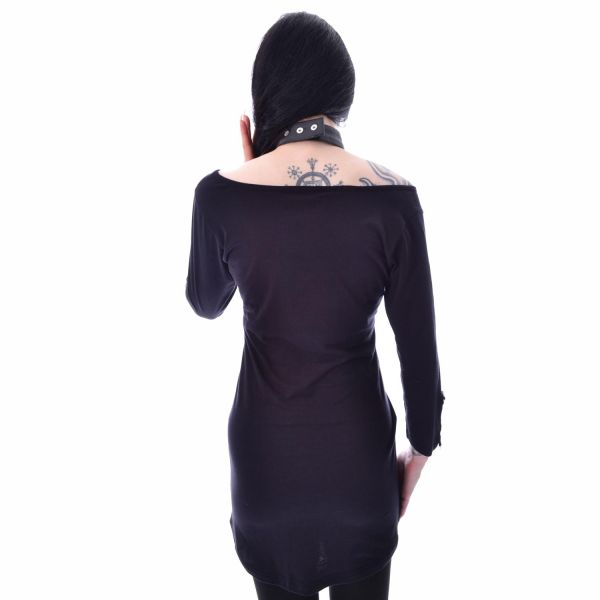 Witches do it Better Shirt mit Bondage Halsband