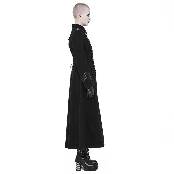 Uniform Mantel mit Epauletten im Industrial Look