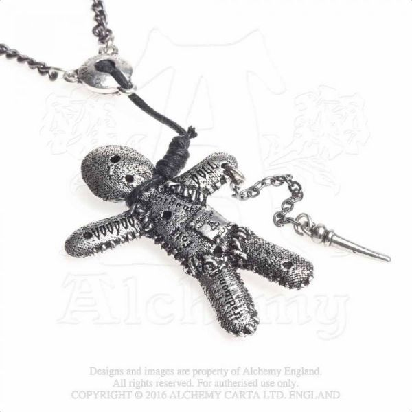 Halskette mit Anhänger - Voodoo Doll