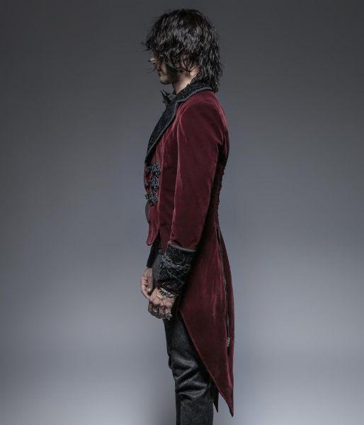 Frack Jacke viktorianisch mit Posament Schliessen