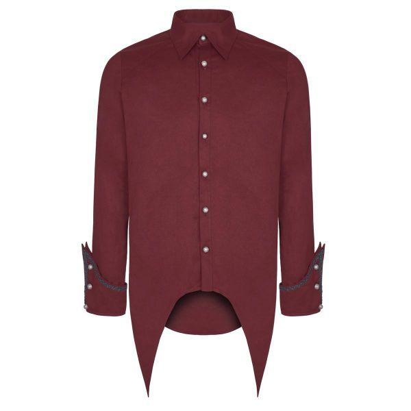 Viktorianisches Frack Hemd mit breiten Manschetten