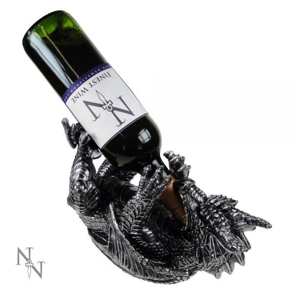 Gothic Drachen Weinflaschenhalter