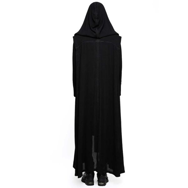 Gothic Sommer Mantel mit grosser Kapuze