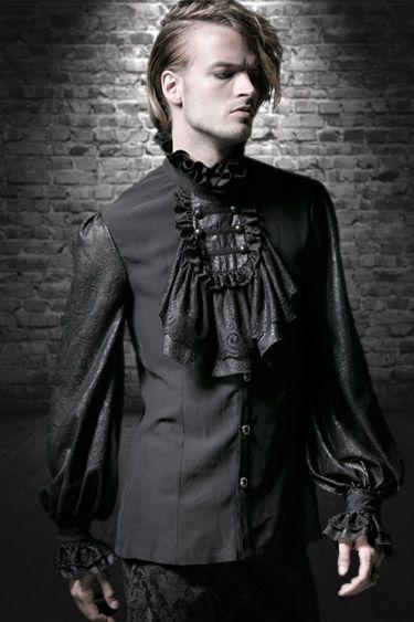 buy online 85309 b1deb Gothic Kleidung für Männer