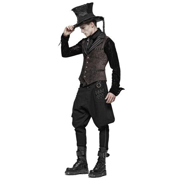 Uniform Breeches Stiefelhose mit Schnürung und Tasche