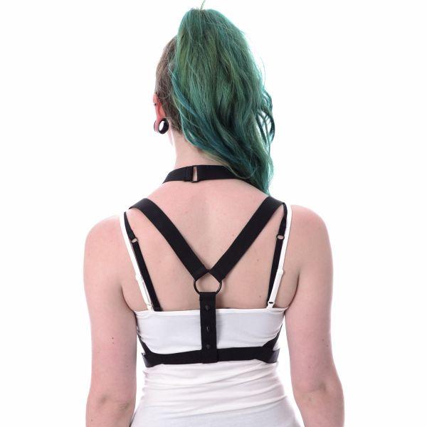 Pentagramm Brust Harness mit O-Ringen