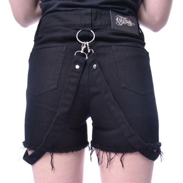 Zerfetzte Shorts mit Bondages