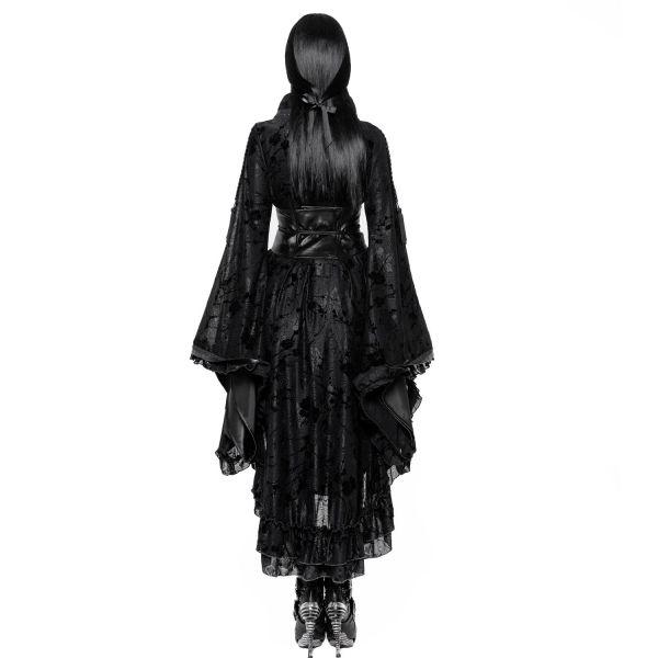 Geisha Kimono Kleid im Dark Romantic Look