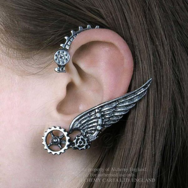 Steampunk Ohrschmuck - Icarus