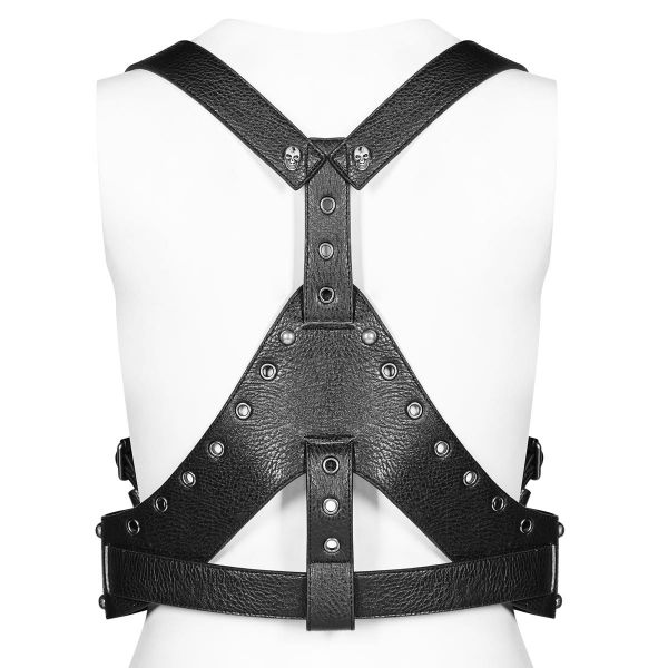 Warrior Girl Post Apocalyptic Harness im Westen-Look