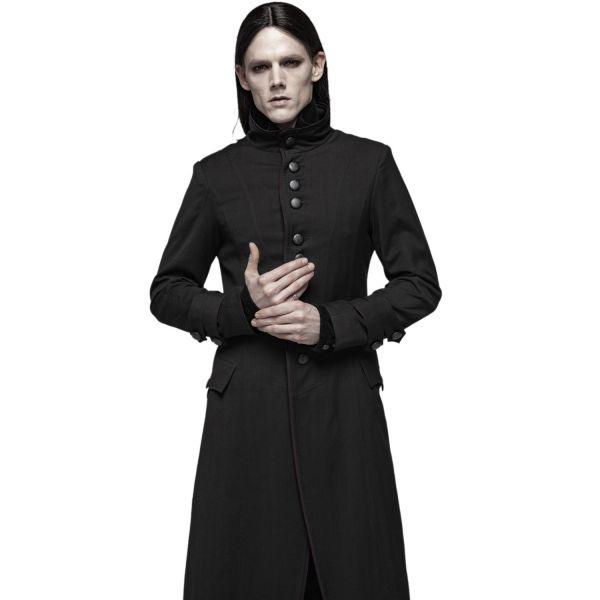 Fürst der Dunkelheit Mantel mit Stehkragen