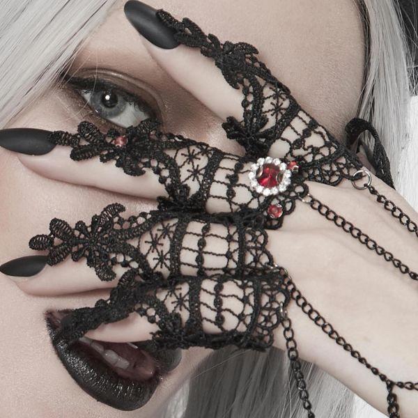 Hand- und Fingerschmuck mit Ketten im Barock Design