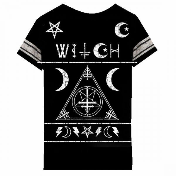 Witch Varsity T-Shirt im Uni Style