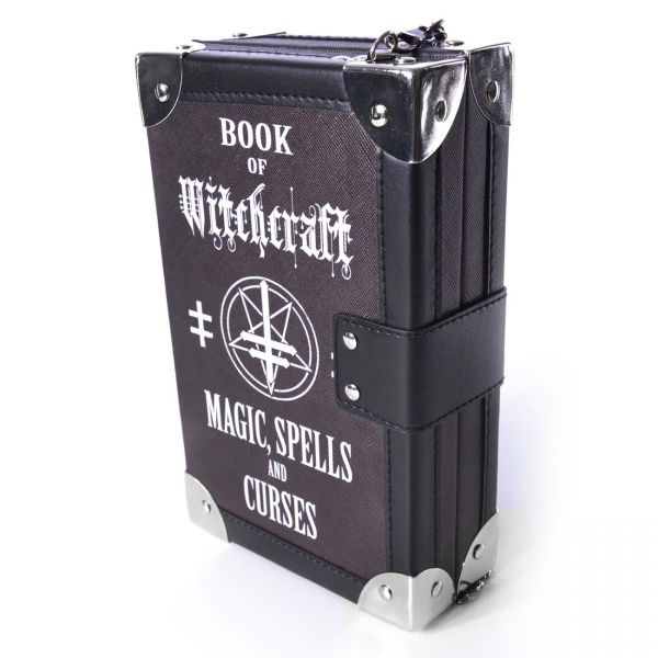 Koffer Tasche im Witchcraft Magic Spells Book Design