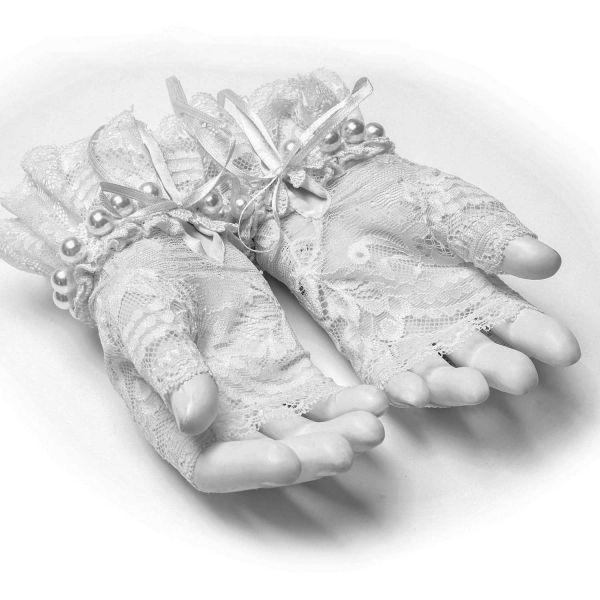 Gothic Lolita Handschuhe in viktorianischem Design