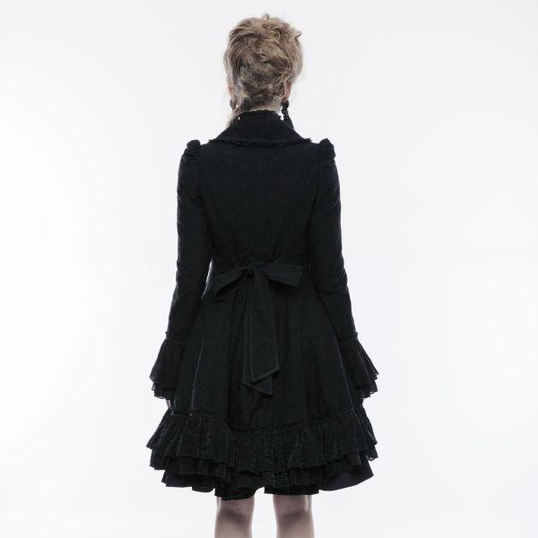 Gothic Lolita Glockenmantel im Häkelspitze Design