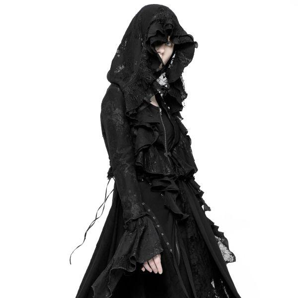 Witchcraft Bolero mit Kapuze im Mystic Style